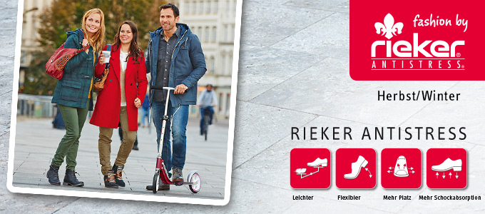 Rieker Kollektion Herbst/Winter 2014