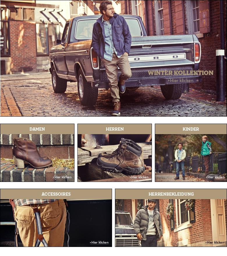Timberland Shop - Herbst/Winter Kollektion 2014