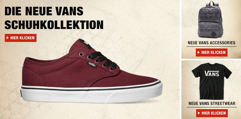 Vans Online Shop bei amazon.de