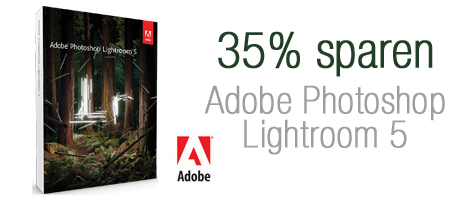 LR5sparen. V380045743  Adobe Photoshop Lightroom 5 für 80€