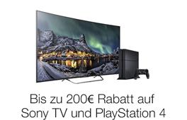 Sony TV + PS4
