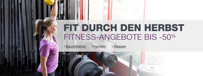 Fitness, Bauchtrainer, Hanteln, Stepper