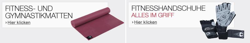 Fitnessmatten, Fitnesshandschuhe