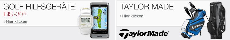 Golf Hilfsgeräte und Golf Taylor Made