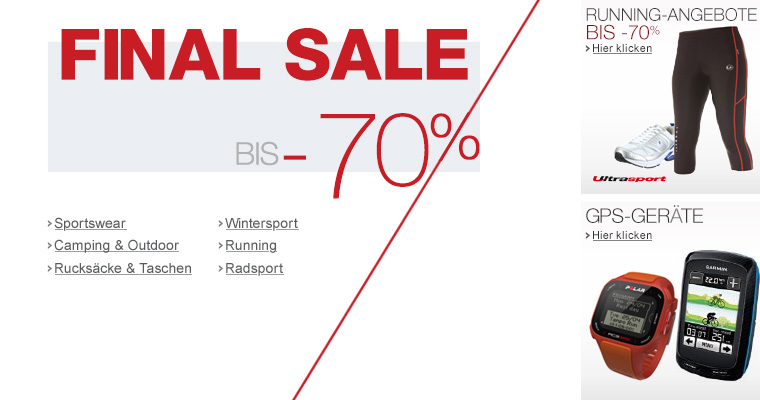 Wintersport - Sale bis -50%