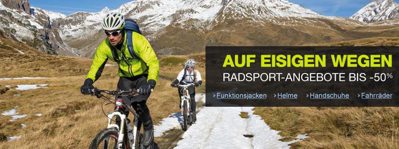 Radsport auf eisigen Wegen