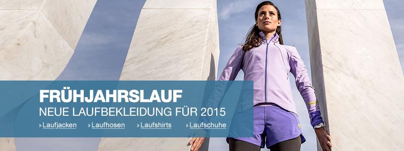 Running: Neue Kollektionen Frühjahr/Sommer 2015
