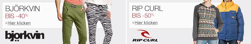 Björkvin und Rip Curl