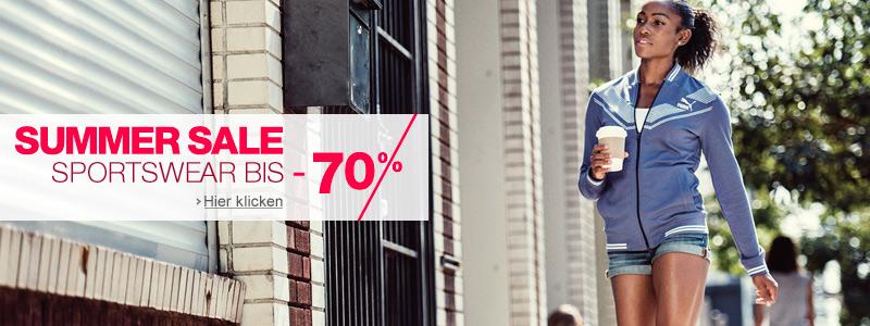 Sportswear: Summer Sale