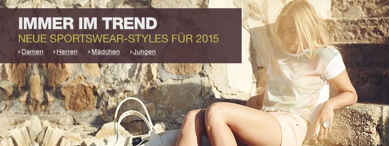 Sportswear: Neue Trends 2015