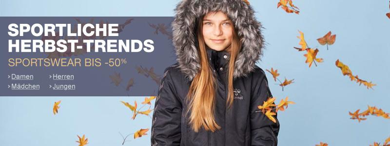 Sportswear Herbst/Winter 14