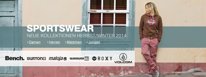 Sportswear Herbst/Winter 14