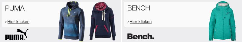 bench sportswear und Puma
