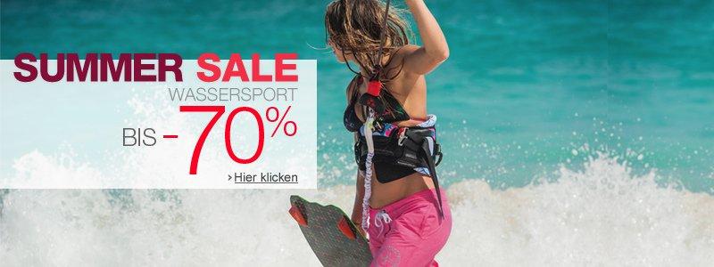 Summer Sale Wassersport