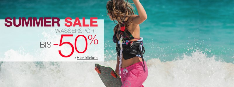 Summer Sale Wassersport