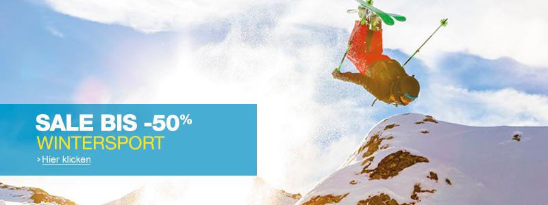 Bis -50% Wintersport