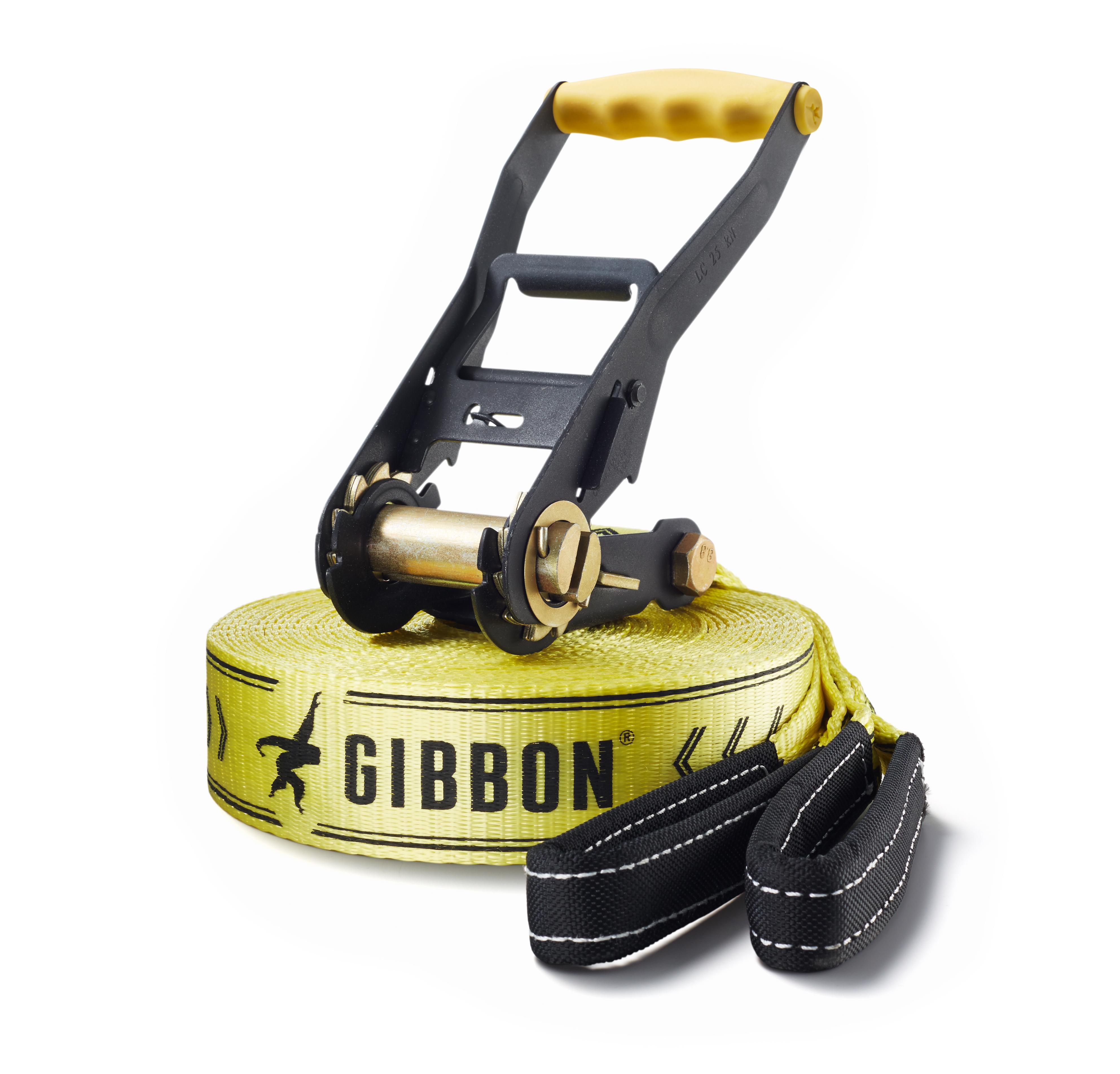 Gibbon Classic Slackline Angebot Einführung Slacklinen
