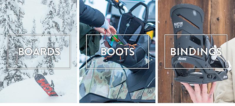 Burton Boards Schuhe Bindungen
