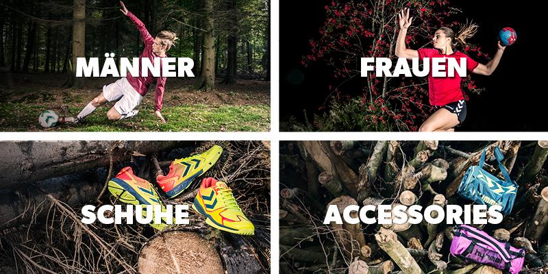 Hummel Sportbekleidung für Damen und Herren, Schuhe und Accessoires