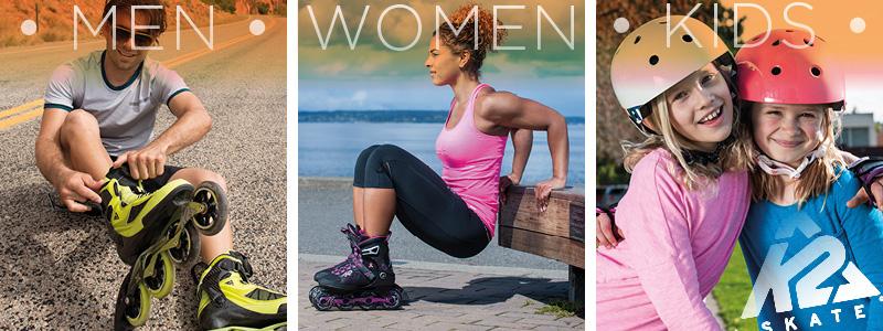 K2 Schlittschuhe für Männer, Frauen und Kinder