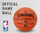 NBA Game Ball Spalding Leder