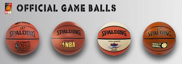 Game Balls Spalding