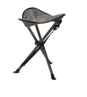 grand canyon 3 bein hocker stahl grau schwarz 34x45 sport freizeit. Black Bedroom Furniture Sets. Home Design Ideas