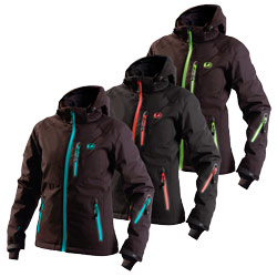 "Ultrasport Damen-Funktions-Alpin-Outdoorjacke Softshell ""Serfaus"" mit Ultraflow 10.000"