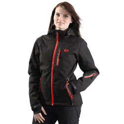 "Ultrasport Damen-Funktions-Alpin-Outdoorjacke Softshell ""Serfaus"" mit Ultraflow 10.000 - Weitere Features"