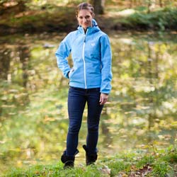 Ultrasport Damen-Funktions-Outdoorjacke Softshell Estelle mit Ultraflow 5.000 - Weitere Features