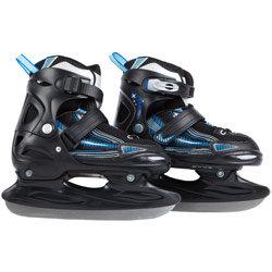 Ultrasport Kinderschlittschuhe - Verstellbar über mehrere Schuhgrößen inkl. Kufenschutz und Tragetasche – TÜV/GS geprüft