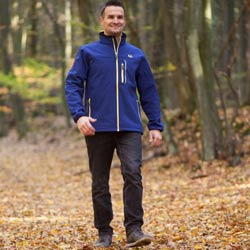 Ultrasport Herren-Funktions-Outdoorjacke Softshell Stan mit Ultraflow 5.000 - Weitere Features