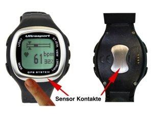 "Ultrasport GPS-Pulscomputer mit Fingersensor ""NavRun 2K11"" - Zusatzbild"