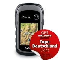 Garmin eTrex 30 Bundle mit Topo Deutschland Light