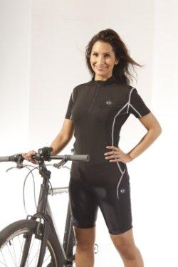 Ultrasport Damen-Funktions-Radhose mit Quick-Dry-Funktion