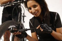 Ultrasport Funktions-Fahrradhandschuh mit Gel-Einlage und Frottee-Daumen für Damen und Herren - Weitere Features