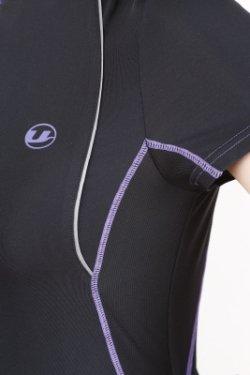 Ultrasport Damen-Funktions- Lauf-/Sport-Shirt Kurzarm mit Quick-Dry-Funktion - Zusatzbild