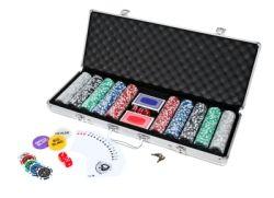 Ultrasport Pokerset Pokerkoffer mit 500 Chips