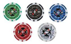 Ultrasport Pokerset Pokerkoffer mit 500 Chips - Zusatzbild