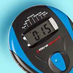 Ultrasport Racer 50 Heimtrainer mit Handpuls-Sensoren - Weitere Features