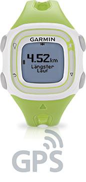Logo GPS mit Forerunner 10 in grün
