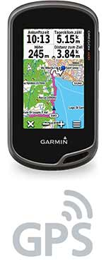 Oregon 600 mit GPS Logo