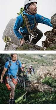 Anwendungsbereiche Alpin und Wandern