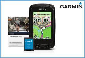 Garmin Edge 810 Radcomputer + Topo Deutschland V6 Pro Freizeitkarte, auf microSD