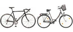 Fahrräder Größen-Beratung