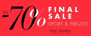Summer Sale Sport und Freizeit bis -70%
