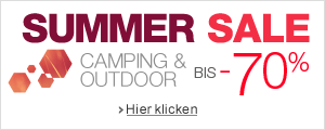 Summer Sale Camping und Outdoor bis -70%