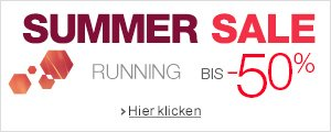 Summer Sale Running bis -50%