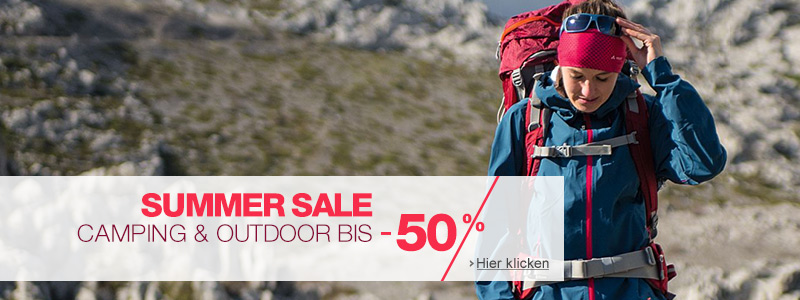 Camping & Outdoor Summer Sale