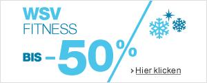 Sale 50% auf Fitness